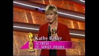 Kathy Baker Wins Best Actress TV Series Drama - Golden Globes 1994