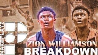 Zion williamson player breakdown! most dominant high school player!?