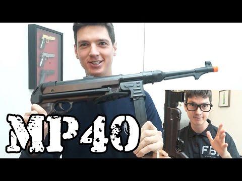 Metralhadora MP40 AMG - Luiz Rider - Airsoft Brasil