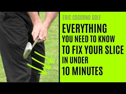 GOLF: Everything You Need To Know To Fix Your Slice In Under 10 Minutes