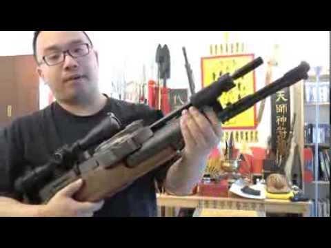 BEST Full Auto Airgun, Evanix Conquest .22 PCP Air Rifle
