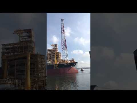 KAOMBO North FPSO Ship Sail away 06/03/2018 , SINGAPORE