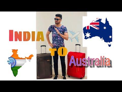 India To Australia ! 🇮🇳✈🇦🇺 !! Journey !  Heart Touching !