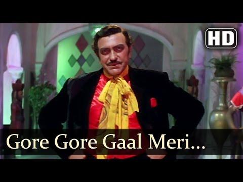 Gore Gore Gaal Meri Jaan Ke - Zeba Bakhtiyar - Amrish Puri - Jai Vikranta - Bollywood Item Songs