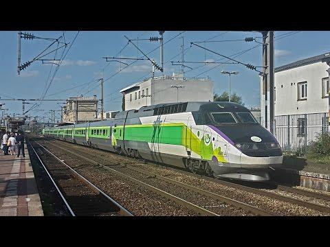 [TERRY87392] Trains Sncf 2016/2017 - TGV, RER, TER, Intercités, Ouigo, Thalys, Eurostar, Izy