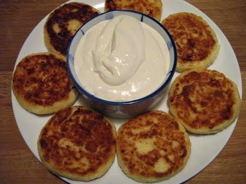 Сырники с манкой / Очень вкусные, пышные, простой пошаговый рецепт