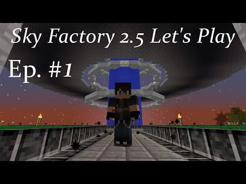 Minecraft SkyFactory 2.5 Lp Ep 1: Twerking for Trees