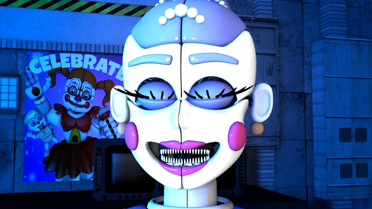 f05613c812f THAT'S ONE CREEPY BALLERINA | Five Nights at Freddy's: Sister Location -  Custom Night (Angry Ballet)