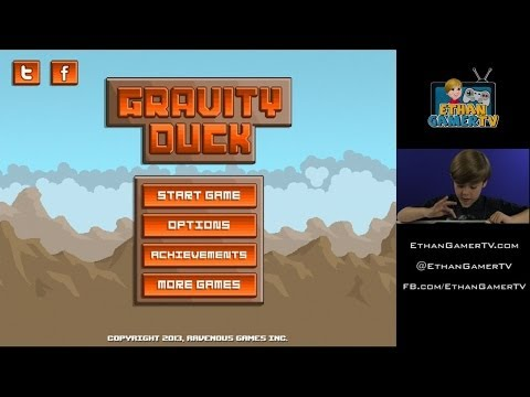 GRAVITY DUCK!! Ethan plays Mobile Games