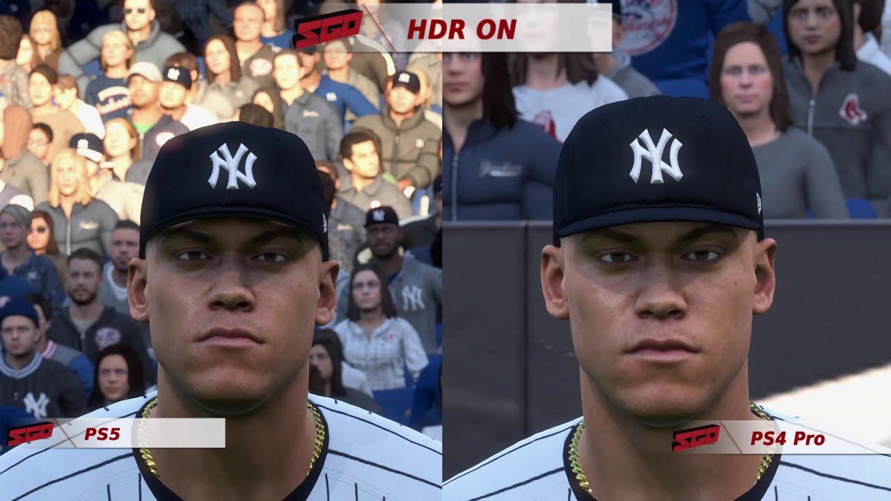 MLB The Show 20 Next-Gen Graphics Comparison! PS5 vs PS4