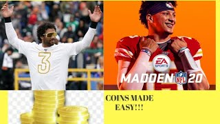 Madden 20 Coin Method (w/proof) part 22 (easy fast coins)