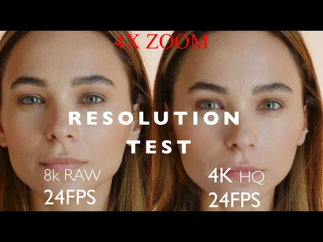 Canon EOS R5 - Resolution Test (8k RAW, 4K HQ, 4K and 1080p)