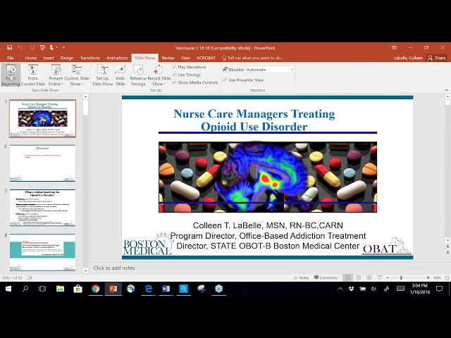 BOOST Collaborative Coaching Call 3: Utilizing the nurse care manager model to treat OUD