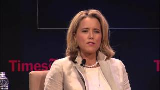 """Madam Secretary:"" Téa Leoni, Tim Daly, Morgan Freeman, Barbara Hall, Lori McCreary"