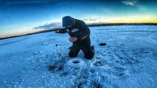ЭТО ЕГО ПЕРВАЯ Жерлицы Щука Рыбалка на озере