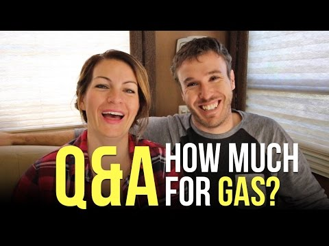 How Much Do You Spend On Gas for RV Living?