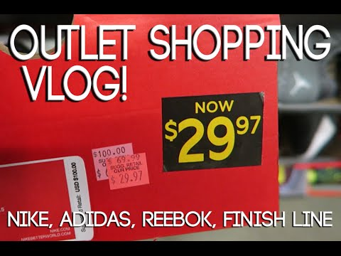 Myrtle Beach Outlet Shopping - Nike, Adidas, Reebok & Finish Line