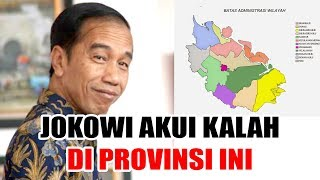 Jokowi Akui Kalah di Riau