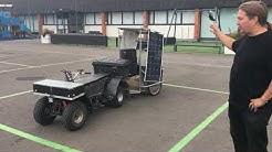 Lasten mönkijästä rakennettu kevyt sähköajoneuvo