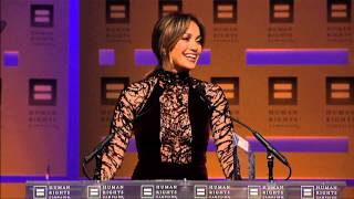 Jennifer Lopez at 2013 HRC National Dinner