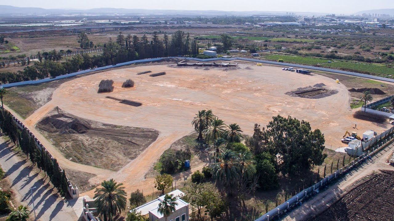 A momentous endeavor begins: Groundwork being laid for the Shrine of 'Abdu'l-Baha