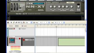 Transporte Panel , Sequencer e Piano Roll - Video Aula Reason 4 com Márcio Mourão