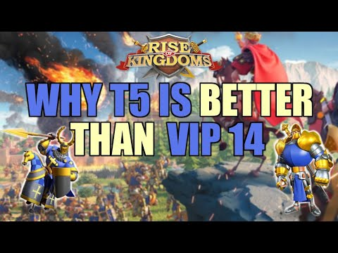 F2P: Why Tier 5 is Better Than VIP 14 | Rise of Kingdoms