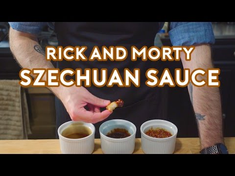 Binging with Babish: Rick & Morty Szechuan Sauce