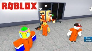 ROBLOX PRISON LIFE - CORRUPT POLICE AND I! -Spanish Gameplay