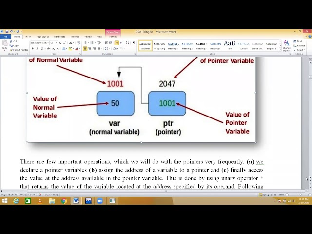 7 (DSA) What is Pointers in c++ ||How pointer used in Data Structure and Algorithms hindi/urdu