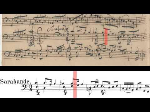 BWV 1009 - Cello Suite No.3 (Scrolling)