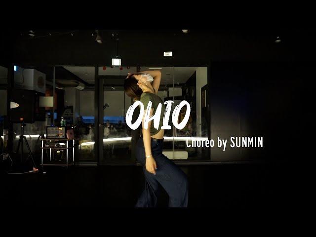 EZDANCE I 잠실점 I 이지댄스 I Crush(크러쉬) - OHIO I GIRLS CHOREO BASIC I Choreo by SUNMIN