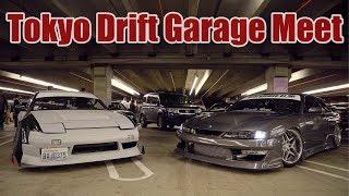 INSANE Tokyo Drift Underground Garage Meet - 700+ Cars!