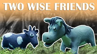 TWO WISE FRIENDS | Short Moral Stories for Kids | Bedtime Stories | My Little TV