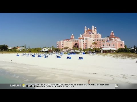 St. Pete Beach's Don CeSar featured in Pitbull video