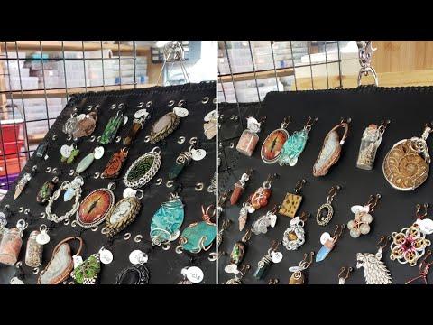 Diy Jewelry display for pendants