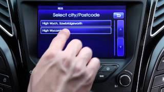Hyundai i40 Навигационная система смотреть