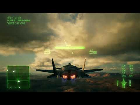 Ace Combat 7: Mission 6 Ace Difficulty S Rank