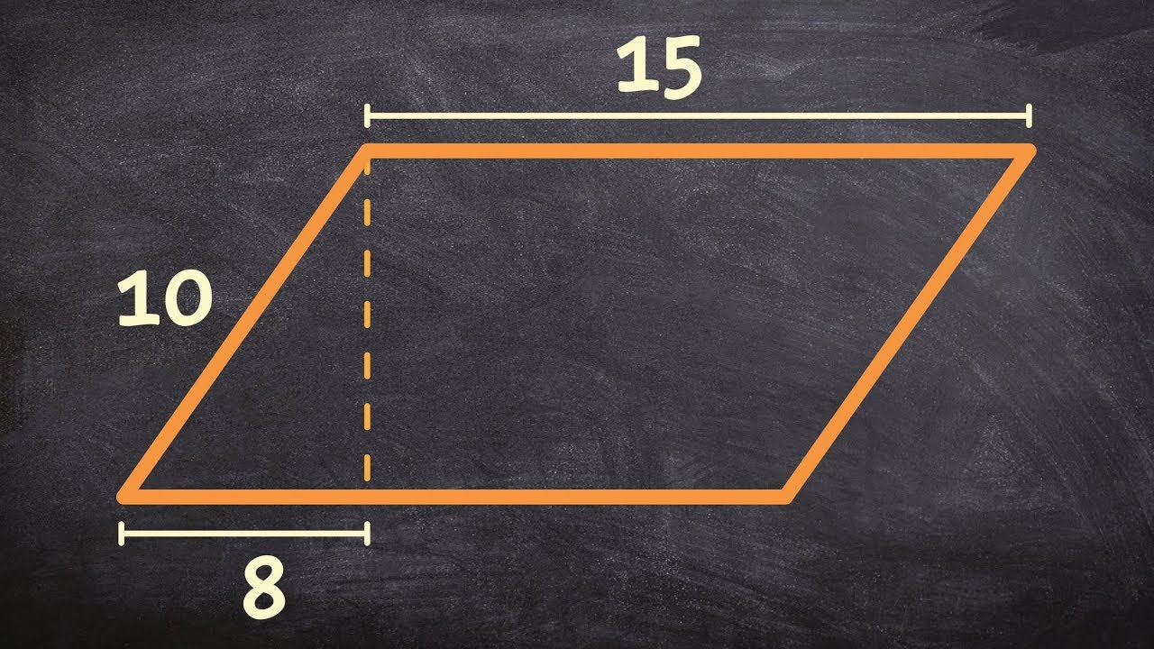 Geometry  How To Find The Area Of A Parallelogram Using The Pythagorean  Theorem