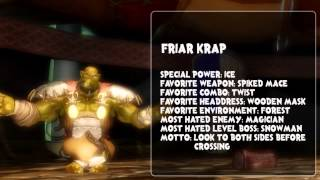 Orc Attack Video Bio: Introducing Friar Krap