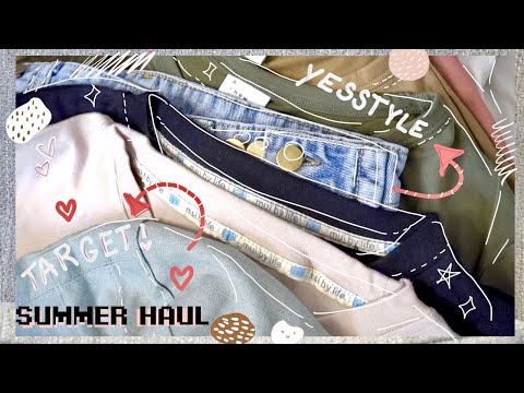 summer-essentials-|-yesstyle-&-target-haul-|-thebrownsatchel