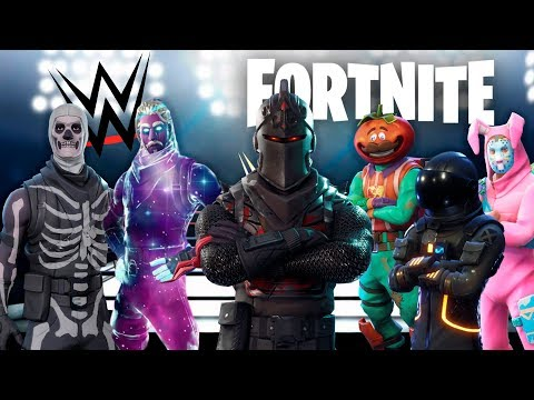 FORTNITE ROYAL RUMBLE !! PERSONAJES DE FORTNITE EN LA WWE ! - ElChurches thumbnail