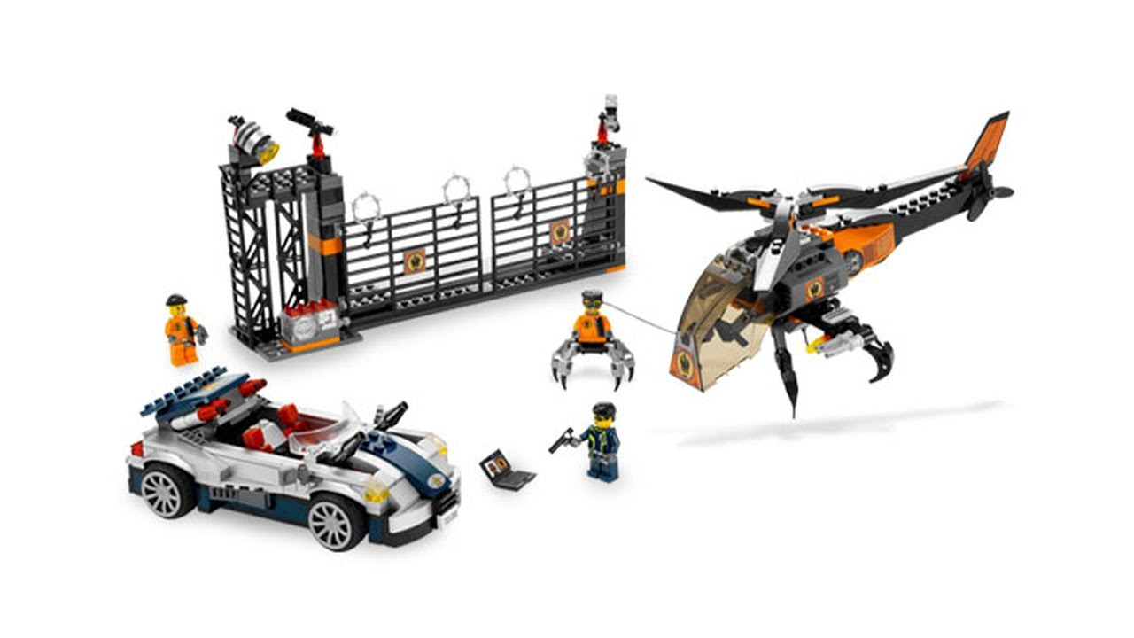 lego 8634 turbocar chase lego agents review brickqueen youtube. Black Bedroom Furniture Sets. Home Design Ideas