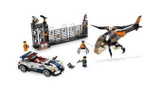 LEGO 8634 Turbocar Chase LEGO Agents Review