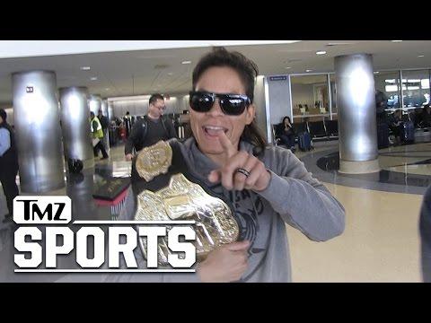 UFC's Amanda Nunes: I'm the Female Conor McGregor... Maybe Better | TMZ Sports