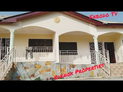 Gated Two Bedrooms Semi-detached For Rent In Cape Coast @ $168 Per Month (Call +233249820242)