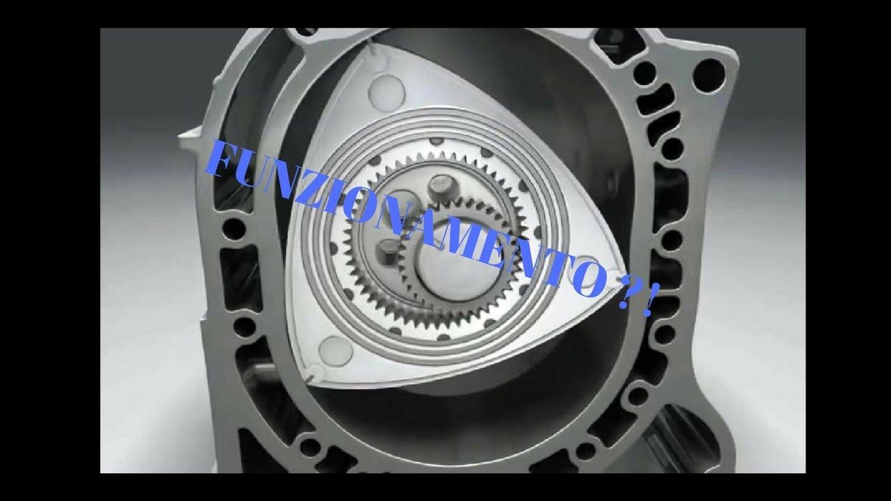 funzionamento motore wankel mazda rx-8 - youtube
