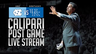 Kentucky Wildcats TV: UNC Postgame Press Conference