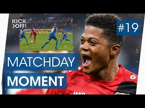 Leon bailey: brilliant backheel goal for leverkusen | bundesliga highlights