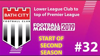 Football Manager 2019 | Lower League to win premier league | Bath FC | Decent start - EP32